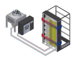 DCDC Hybrid Seitenkühler